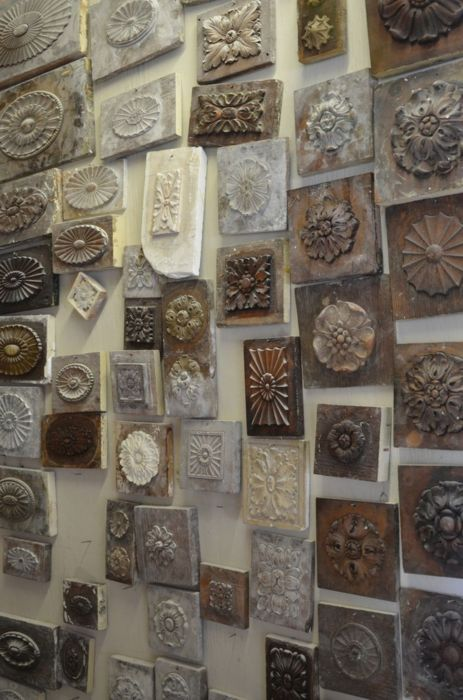 ∷ Variations on a Theme ∷ Collection of plaster architectural details