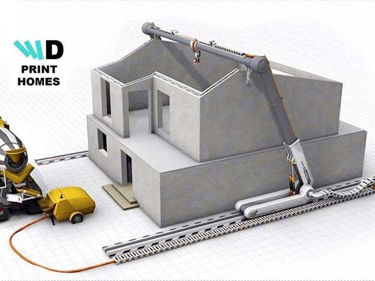 House Building Using A 3D Printer!