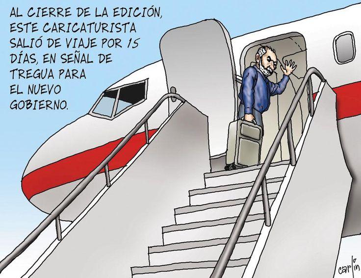 Carlincaturas 15/06/2011 - 15-06-2011 | LaRepublica.pe www.larepublica.pe940 × 725Buscar por imagen buen viaje señor presidente dibujo buen viaje !! - Buscar con Google