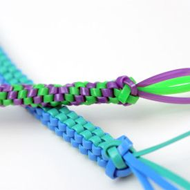 Learn classic lanyard stitches with an easy to follow video. Great for kids and you can use in paracord, leather, or recycled string too.