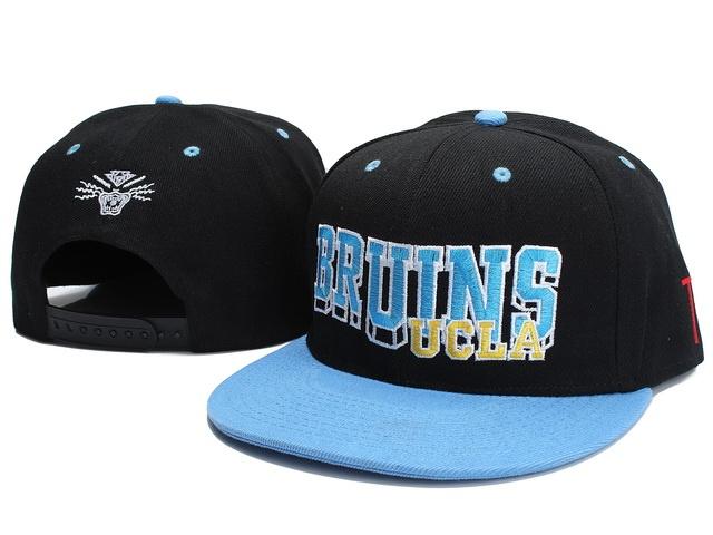 NCAA UCLA Bruins TV Snapback Hat 01