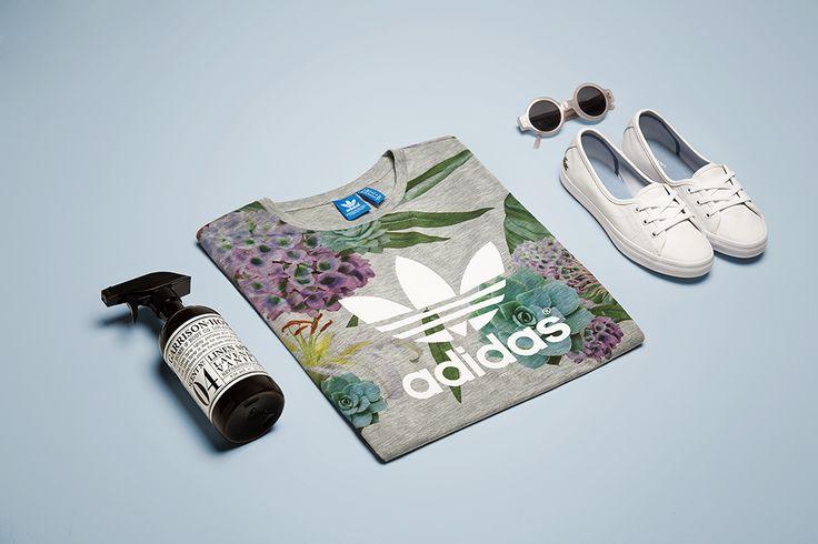 Spring in GaleriaMarek.pl style: Dorota Bielecka #adidas #lacoste