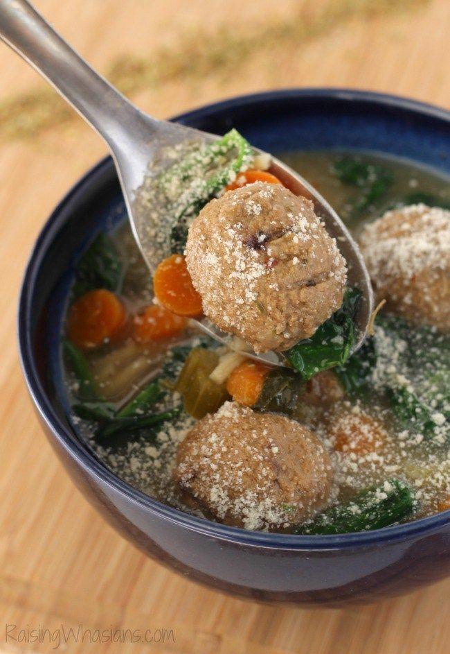 Gluten Free Slow Cooker Italian Wedding Soup Recipe