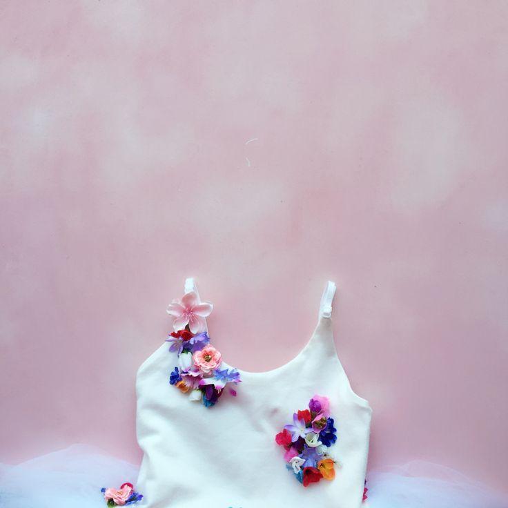 Floral Birthday Party - K&Elphy www.kandelphy.com