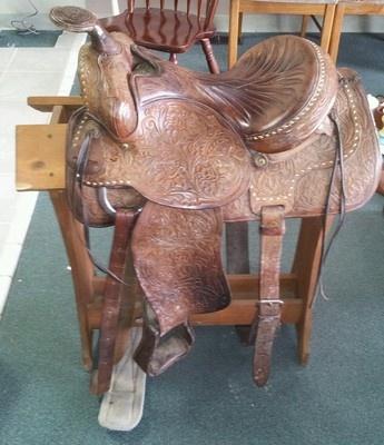Tex Tan Hereford Saddle | Buckstitched Beauties ...