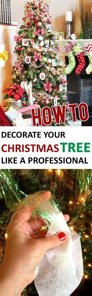 A great tutorial to make your tree look gorgeous this holiday season!