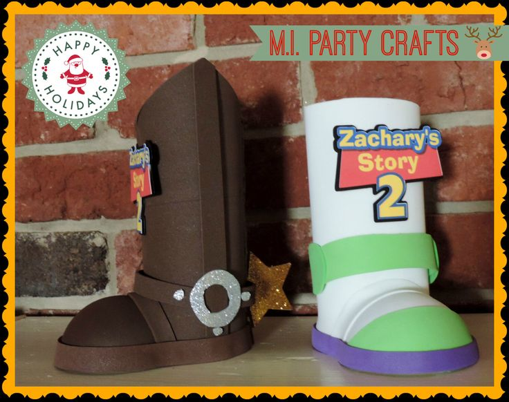 toy story inspired party decoration, toy story centerpieces by mipartycrafts on Etsy https://www.etsy.com/listing/208049887/toy-story-inspired-party-decoration-toy