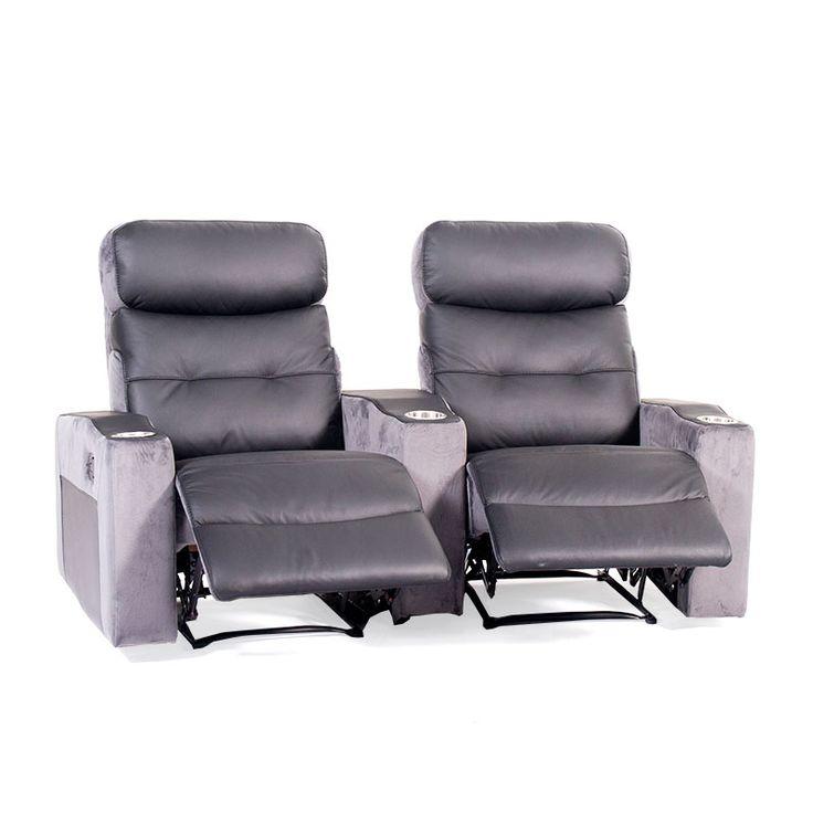Capri 2 Seater Home Theatre - Discount Lounge Centre
