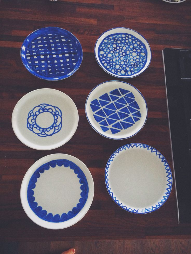 Blue pattern china by me