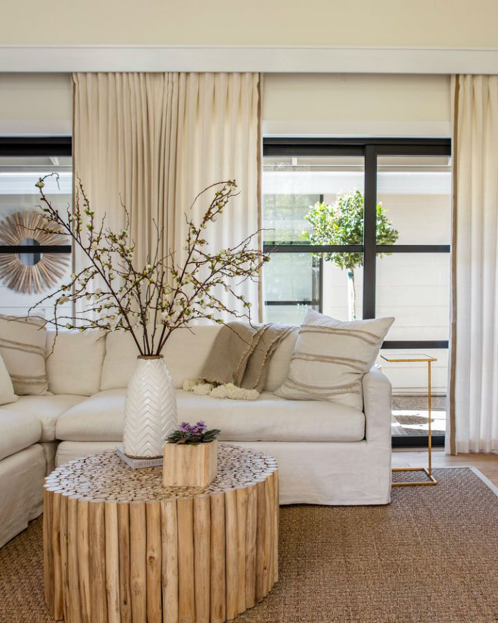 Pin On Ideas For My New House Cream living room decor ideas