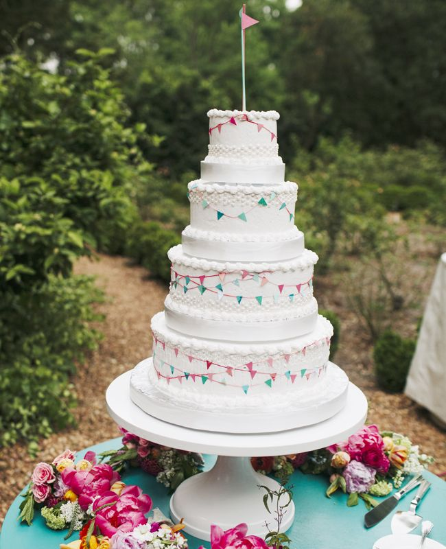 A Whimsical Garden Party Wedding// From: The Knot// By: Our Labor of Love..love