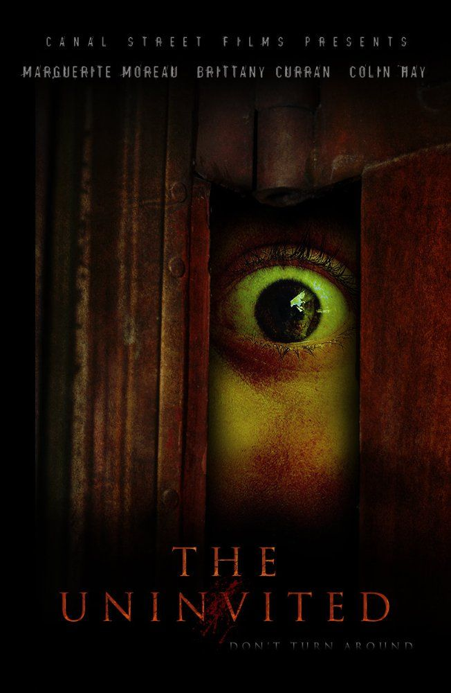 Directed by Bob Badway.  With Marguerite Moreau, Brittany Curran, Colin Hay, Donna W. Scott. A young woman's nightmarish past returns to trigger off a bizarre phobia she was once cured of; an intense fear of space, eased only by closeness to walls. She becomes a psychological survivalist when her remote house suddenly becomes a spiritual battleground, as evil forces gather to torture her during a night of terror.