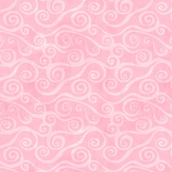 Wilmington Prints Essential 108 Inch Quilt Back Swirly Scroll Cotton Flannel Pink | Quilt Backing | Fabric