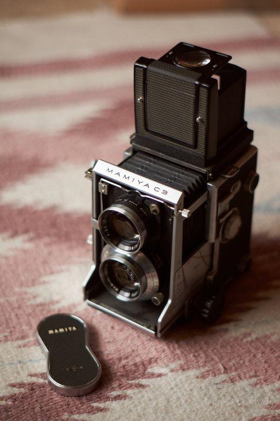 Mamiya C3 TLR Medium Format Twin Lens Reflex Camera by danophoto, $250.00