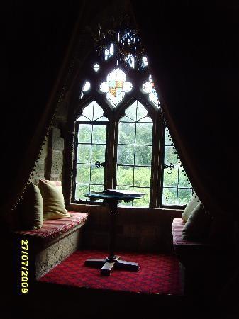 Langley Castle Hotel: Greenwich Room Window Seat