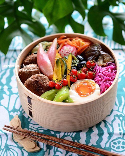 5/25 肉団子のナンプラーバター煮の乗っけ弁当