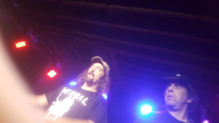 Kurt and Harold of D.R.I at the Velvet Underground in Toronto July 2017