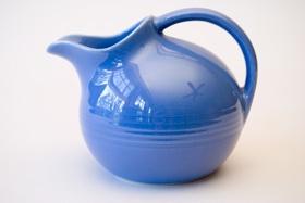 Vintage harlequin pottery