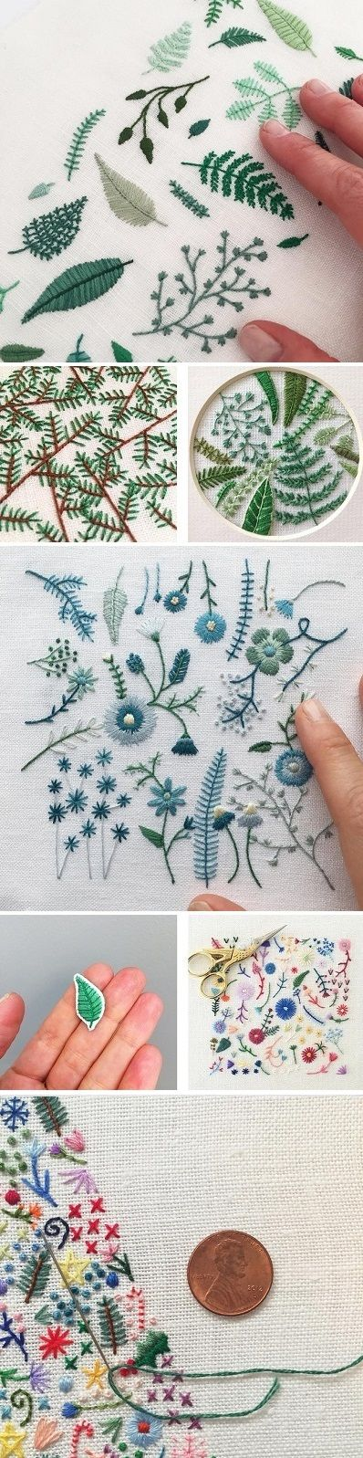 Pillow Hand Embroidery Designs: Best 25+ Pillow embroidery ideas on Pinterest   Embroidery    ,