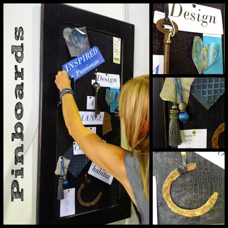 Charcoal Interiors - Style In The City: Functional, Creative and Stylish...our Pinboards...the Best Way to Pin...Ever!