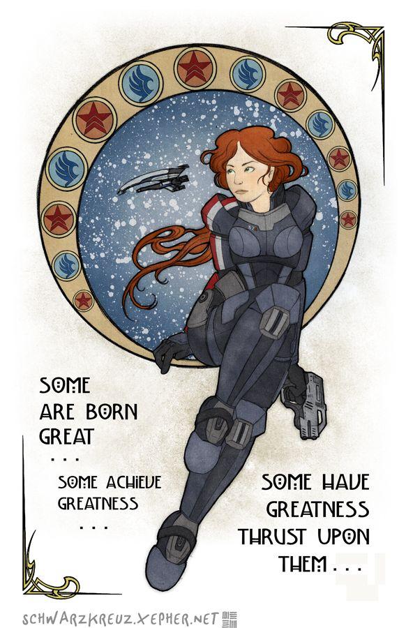Shepard-Nouveau by doppelgangergeisha.deviantart.com on @deviantART #masseffect #femshep