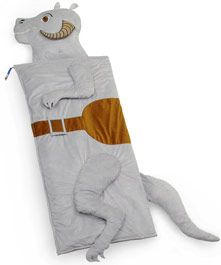 Star Wars sleeping bag.  I wish I had a kid who loved star wars, because this would be theirs....