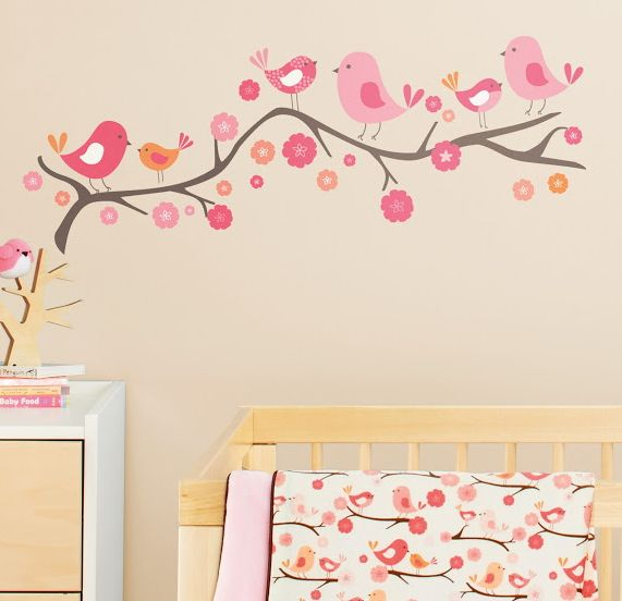 Buy Skip Hop Springtime Birdie Wall Decals from Canada at Well.ca - Free Shipping