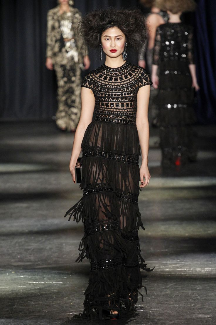 Naeem Khan Fall 2016 Ready-to-Wear Fashion Show