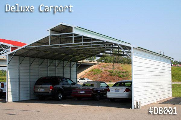 Coast to Coast Carports Metal Bulding Deluxe Carports