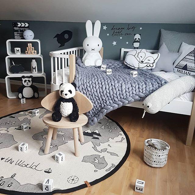 Håper dere har en fin Søndag  - /inneholder reklame og sponset produkter/ @babyshop.no #babyshopno #oyoylivingdesign #theworldrug #panda #jellycat #designletters @carmell.no #carmell #stickstay #wallsticker #sengeslange @lillstrumpa.nu #lillstrumpa #teppe @oliverfurniture #juniorbed #bed#miffy #kidsplayroom #kidsootd #kidsroomdecor #kids #kinderzimmer #boysroom #gutterom #bedroomdesign #barnrum #barnerom #nursery #kidsinterior #interior