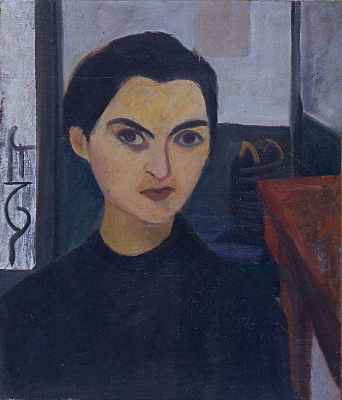 Self-portrait, 1930 - Maria Helena Vieira da...