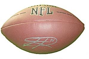 Sidney Rice Signed/Autographed NFL Football, Seahawks, Vikings, Proof
