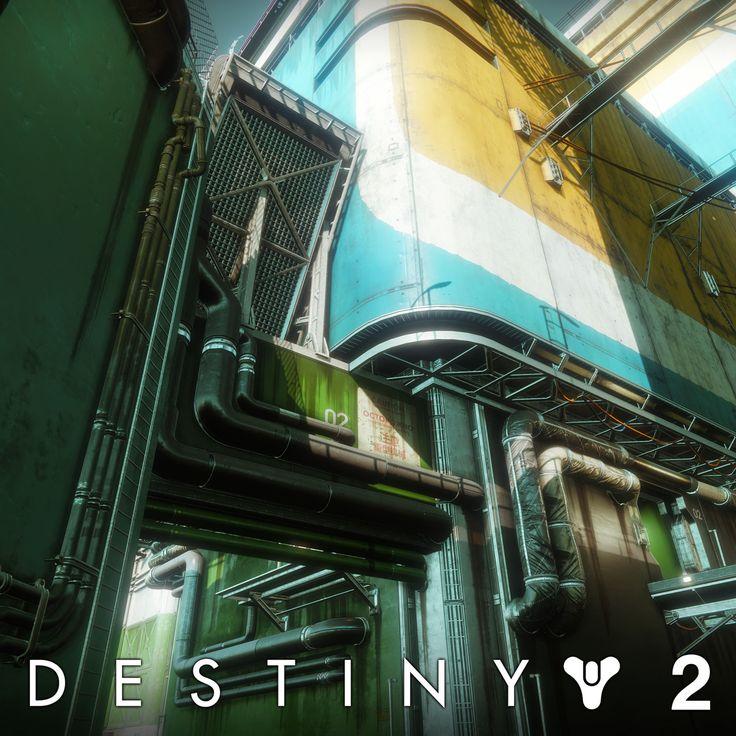 Destiny 2: Pacifica PVP Map, Kevin Whitmeyer on ArtStation at https://www.artstation.com/artwork/Vxr8Z