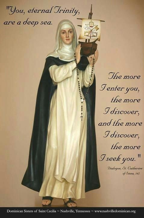 ~St. Catherine of Siena