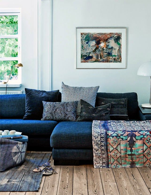 automatism: A Fisherman's Cottage   - plan for our sofa!