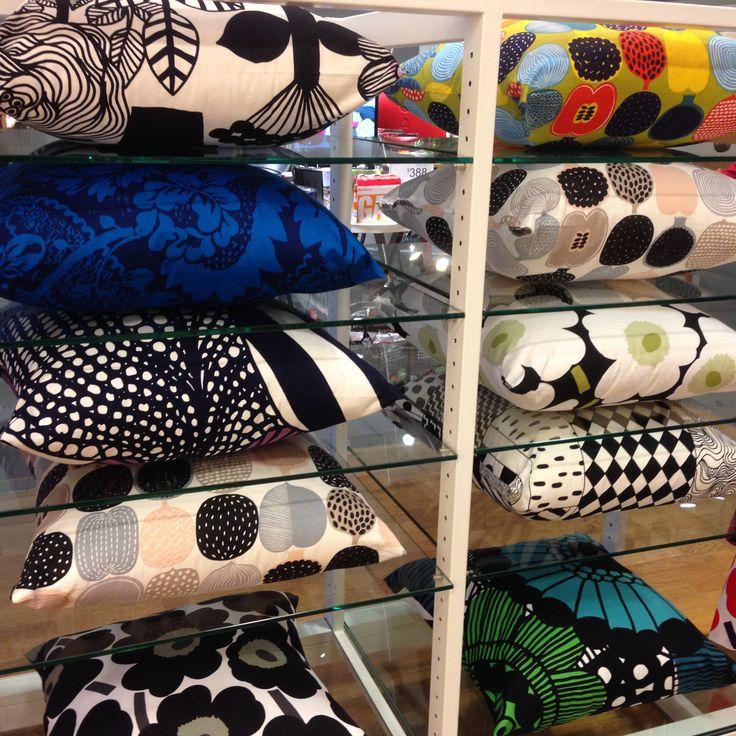 Marimekko cushion design