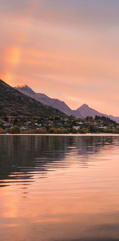 Frankton Beach, Queenstown, NZ..