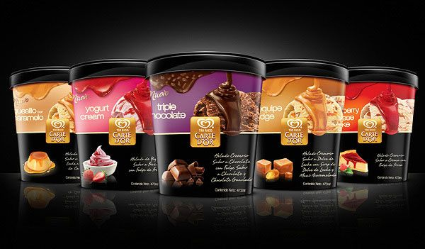 Walls CARTE DOR Ice Cream Packaging 7 30+ Cool Ice Cream Packaging Designs For Inspiration