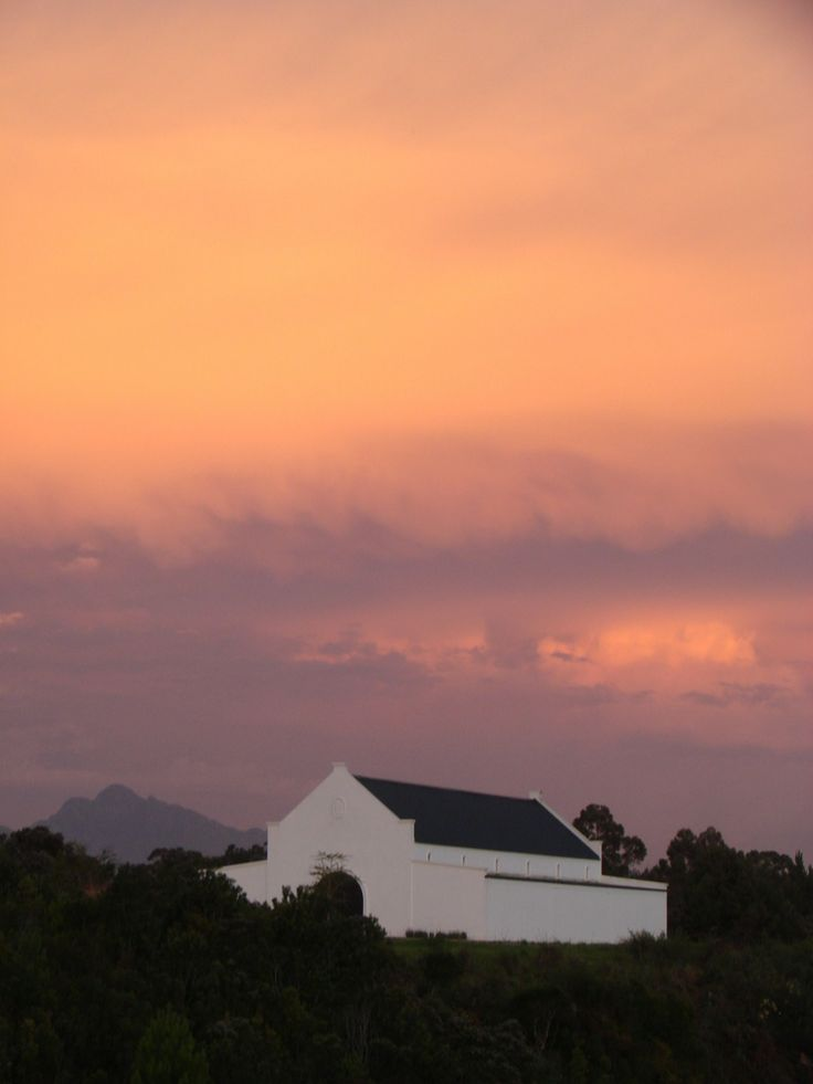 Bramon Wine Estate & Restaurant by sunset...it is so romantic...have never seen something like that before...