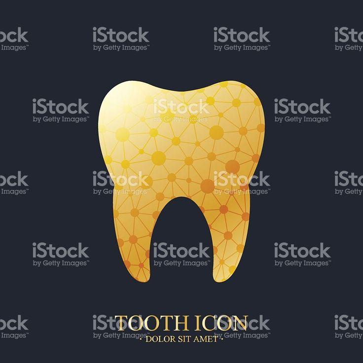 Tooth Vector logo Template Сток Вектор Стоковая фотография