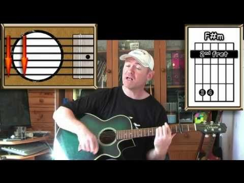▶ Raindrops Keep Falling On My Head - B J Thomas - Acoustic Guitar Lesson (easy) - YouTube