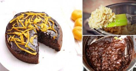Deliciosa+torta+de+chocolate+¡sin+azúcar+ni+leche+ni+harinas!