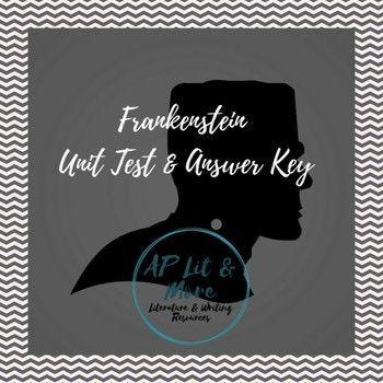 Best 25 frankenstein novel ideas on pinterest frankenstein book frankenstein test answer key fandeluxe Choice Image