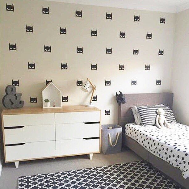 Thanks to @_elleandco_ for sharing with us this feedback picture of her room with our Superhero decals.