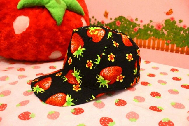 Strawberry snapback