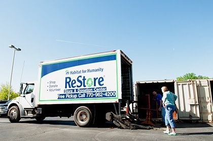 Donate goods to Habitat for Humanity ReStore to clear clutter and make a difference. Find your local Habitat ReStore to make a donation today.