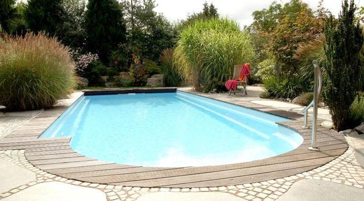 nice outdoor pool in the garden
