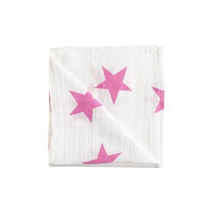 Launched by a mom in 2006, aden + anais is a brand we adore for its simple, tried-and-true designs that keep babies safe and cozy. These soft, breathable and durable muslin cloths are ideal for his or her first blankie. <ul><li>Cotton.</li><li>Machine wash.</li><li>Import.</li><li>Select stores.</li></ul>