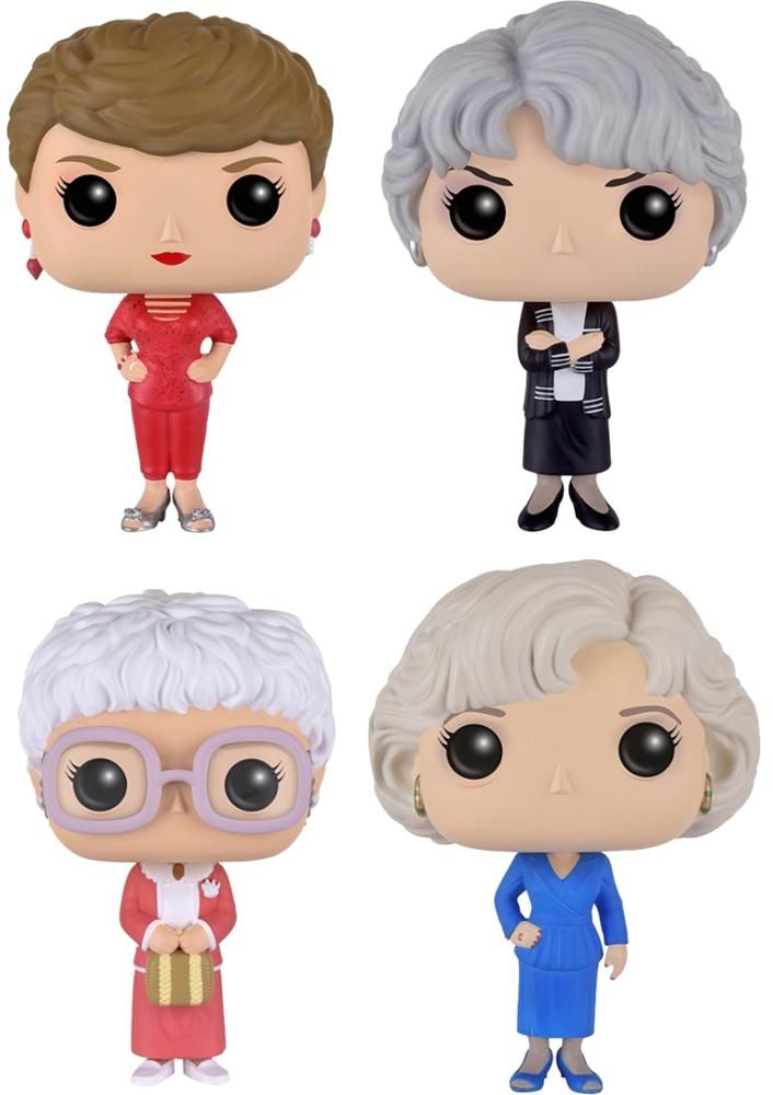 The Golden Girls Funko Pop Television Toys Funko 80 S Gifts