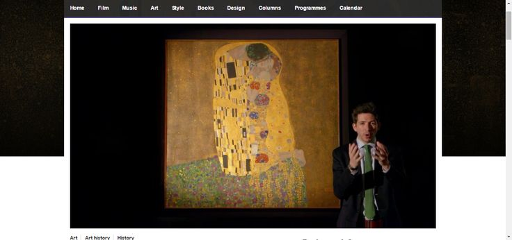 The dark side of The Kiss | In a series that highlights a momentous year in three cities, Dr James Fox explains why Vienna in 1908 foreshadowed the creative and destructive future of the 20th Century. #klimt